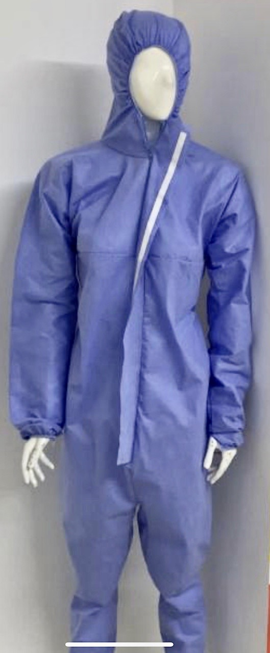 Personal protection uniform type TYVEK